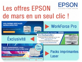 Epson offres speciales WorkForce Pro plus Conso
