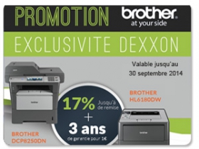 Exclusivite dexxon brother 09 2014