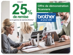 Brother ban offre de démo scanners