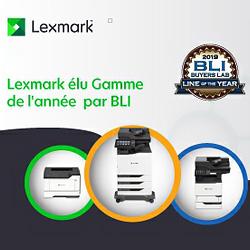 Lexmark prix LBI