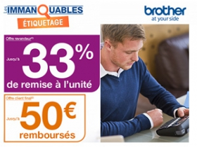 Brother Immanquable etiquetage