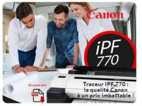 Canon traceurs iPF770