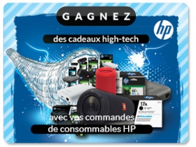 HP challenge consommables - cadeaux hight tech