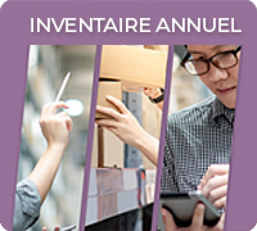 Dates d'inventaire de fin d'année 2019